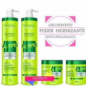 Progressiva Quiabo All Types Shampoo+tratamento+botox+sos