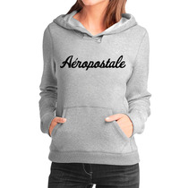 Moletom Aeropostale Feminino Casaco Canguru/blusa De Frio