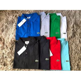Camisa Polo Lacoste Peru Masculina Importada Original Oferta