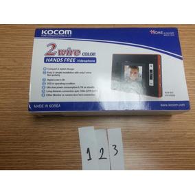Intercomunicador Monitor A Color Kocom Mod Kcv-352