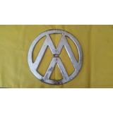 Emblema Frontal Kombi Antiga Para, Restauro Ou Decoração