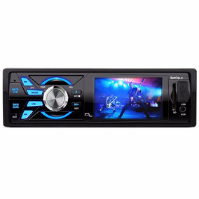 Radio Media Player Multilaser Rock+ Tela 3 P3252 Usb Sd Mp5