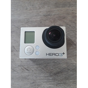 Camera Go Pro 3+ Silver Com Lcd Backpack