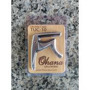 Capo Traste Tuc 10 Ohana Para Ukulele.importador Autorizado