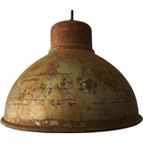 Lampara Vintage De Techo Decorativa Oxido Retro Industrial