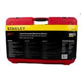 Juego Caja Herramientas 150 Piezas Stanley Racing R99-150la
