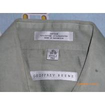 Camisa Geoffrey Benne Sateen 16 1/2 Vestir Original Algodon