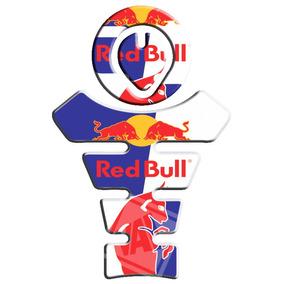 Protetor De Tanque E Boca Honda Bros/xre/tornado Red Bull
