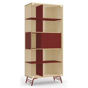 Cristaleira Kappesberg Pop Com 2 Portas De Vidro Po601 Pine/
