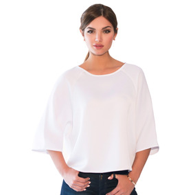 Camisa Blanca Guayabita Angela Para Damas