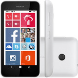 Nokia Lumia 530 Dual Chip Branco Tela 4 Winphone 8.1 Cam 5mp