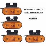 Lanterna Lateral Led Caminhão Carreta Reboque (unid)