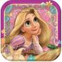 Platos Desechables Pequeños Rapunzel (enrredados/tangled)