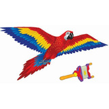 Papalote 3d X Kite Guacamaya 1.84 Mts De Alas! C/ Recolector