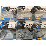 Lote De 6 Naves Star Wars Hot Wheels Starships