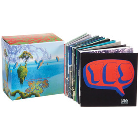 Yes-box Set The Studio Albums 1969-1987 - 12 Cds