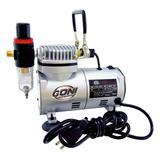 Compresora De 1/6hp Con Regulador Y Filtro 9201 Goni