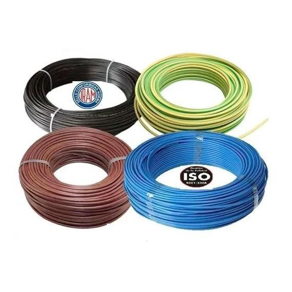 Cable Unipolar 4 Mm X 25 M Negro Fonseca * E631 *