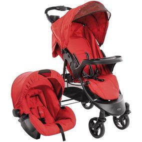 Carrinho Kiddo Ômega 5203 Com Bebê Conforto Cozycot 404o