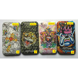 Capa Ed Hardy - Iphone 3 3g 3gs + 3 Brindes