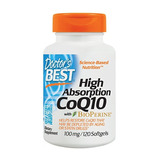 Coq10 - Coenzima Q10, De Alta Absorção 100mg X 120 Softgel