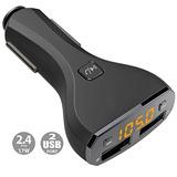 Cargador De Coche, Xboun Bluetooth Car Kit Transmisor Fm...