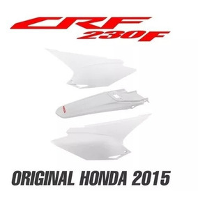 Kit Tampa Lateral+rabeta Crf 230 15 16 17 18 Original Honda
