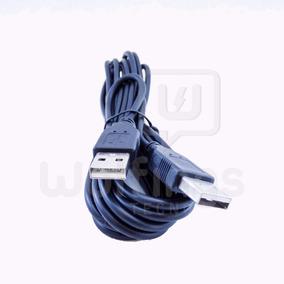Cable Usb Macho - Macho Tipo A 3 Metros Negro Fulltotal
