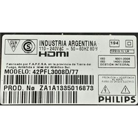 Parlantes Philips 42pfl3008d