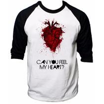 Camisa Raglan 3/4 Bring Me The Horizon Rock Can You Feel