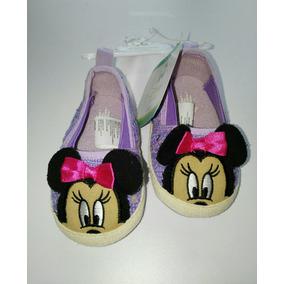 Zapatos Para Bebé 6-9 Meses, Disney Baby. Nuevos
