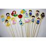 Topper Princesas Disney Festa Infantil Enfeite Lembrança C10