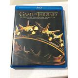 Game Of Thrones - Segunda Temporada - Blu Ray Como Nueva!