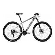 Bicicleta Kode Attack Mtb 27 Velocidades Aro 29 Cinza/preto