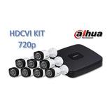 Kit Dahua Hcvr4108cns3 8 Canales Trihibrido 720p/ 8 Camaras/