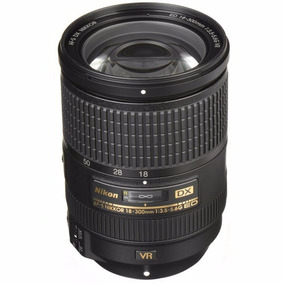 Objetiva Nikon 18-300mm F3.5-5.6g Ed Vr