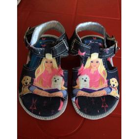Sandalias De Barbie Para Niña Talla (19-20-21-23) Nuevas