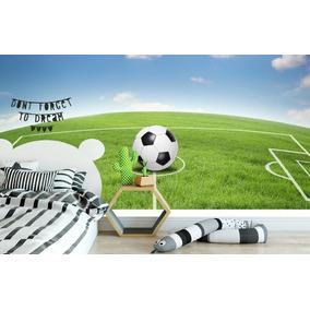 7a38a2e915 Adesivo Autocolante Futebol Painel Quarto Infantil Gol Decor