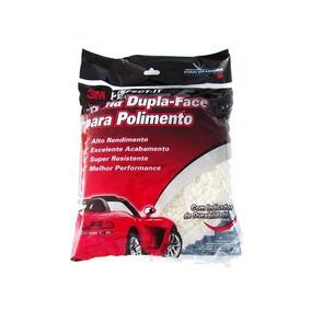 3m Boina Dupla Face Branca Polir - Polimento
