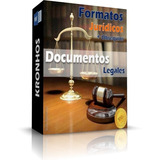 Formatos Jurídicos Documentos Legales Completos 2018 + Bonos