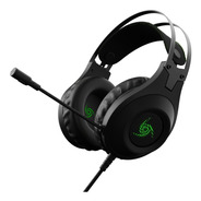 Auricular Headset Gamer Vsg  Kuiper 3.5 Mm Led Microfono Pc
