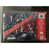 N64 Armorines Project S.w.a.r.m. En Caja Y Completo