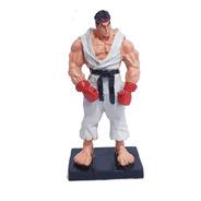 Miniatura Colecionável Street Fighter Ryu Em Resina 17cm