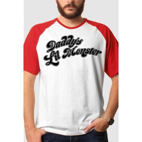 Camiseta Raglan Esquadrão Suicida Daddy