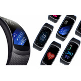 Reloj Pulsera Samsung Gear Fit 2 Cardio Gps Bluetooth Mp3