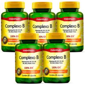 Complexo B - Maxinutri - 5x60 Cápsulas # Polivitamínico