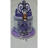 Corona De La Princesa Sofía Decoración De Tortas