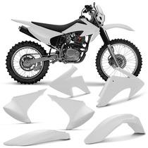 Kit Plastico Crf230 Roupa Crf230 Completa Branco Pro Tork Ph