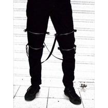 Pantalon Bondage Doctor Frankenstein Bondage Punk Rocker
