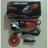 Esmeril Black And Decker 4 1/2 900 Watts Linea Pro 11000 Rpm